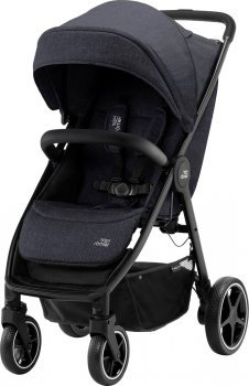 Прогулянкова коляска Britax-Romer B-Agile R Black Shadow/Black (2000032871) (4000984204858)