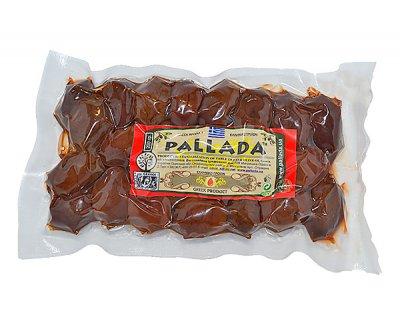 Оливки вяленые PALLADA Домаскинос Блонд с/к 0, 5кг черные