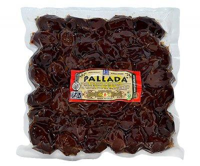 Оливки вяленые PALLADA Калмата вакуум с/к 1 кг черные