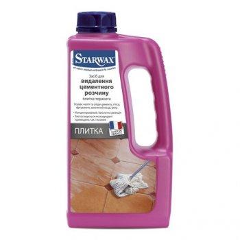 Засіб-концентрат для видалення цементного розчину Starwax 1 л