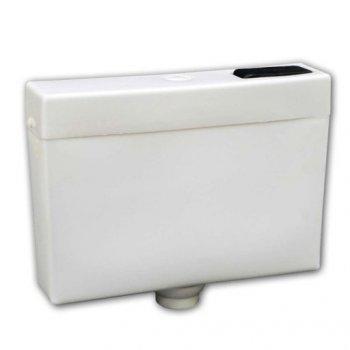 Бачок для унитаза низкий пластиковый боковой подвод воды (10889081)