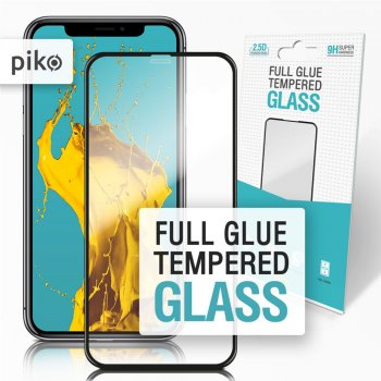Захисне скло Piko Full Glue для Apple iPhone X/Xs Black (1283126487316)