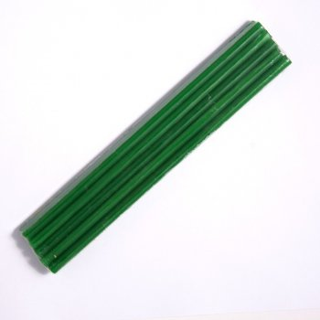 Набор зеленых восковых свечей 10 штук (СВ2027)
