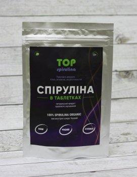 """Спіруліна в таблетках 250 грам """"ТОП Спирулина"""""""