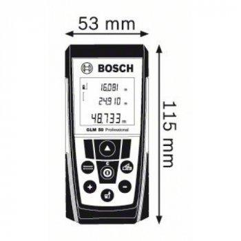 Далекомір лазерний Bosch GLM 50 Professional