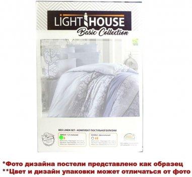 Комплект постельного белья LightHouse Blue Butterfly бязь голд 200х220 2х50х70 (2200000551337)
