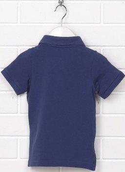 Поло H&M 5hm01120202 (до 98 см) Синее