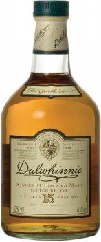 Виски Dalwhinnie 15 Y.O. 0.7 л 43% (5000281005423)