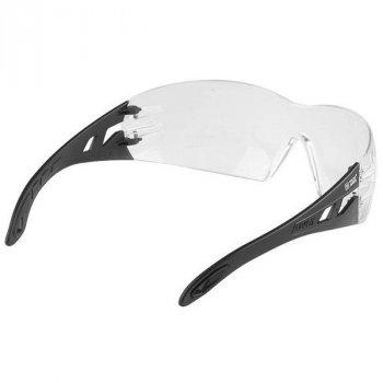 Защитные очки тактические Uvex Pheos Прозрачные, Black оправа (126870)