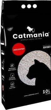 Наполнитель для кошачьего туалета Catmania натуральный белый Бентонитовый комкующий 10л (8182162004113)