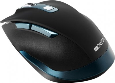 Миша Canyon CNS-CMSW14DG Wireless Black-Blue