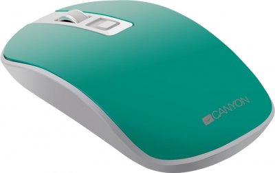Мышь Canyon CNS-CMSW18A Wireless White-Green