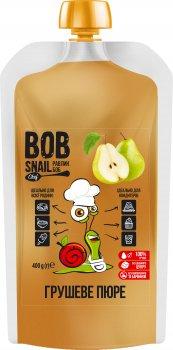 Натуральне грушеве пюре Bob Snail 400 г (4820219341376)