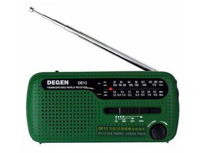 Радиоприемник Degen DE13 FM AM SW Зеленый (1007-131-00)