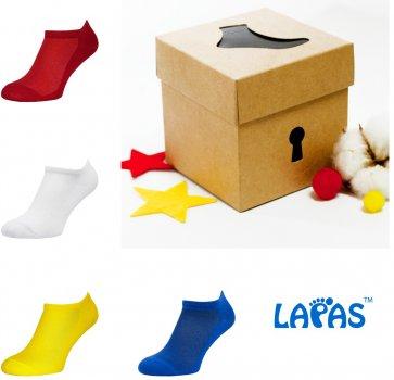Набор носков Lapas 4P-222-223 (4 пары) Разноцветный W