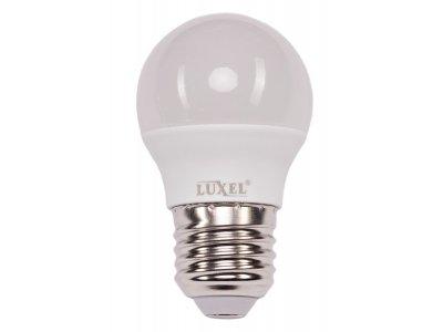 Світлодіодна лампа Luxel G45 7W 220V E27 (050-N 7W) 520 Lm