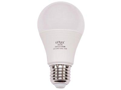 Світлодіодна лампа Luxel A60 7W 220V E27 (ECO 063-NE 7W) 520 Lm