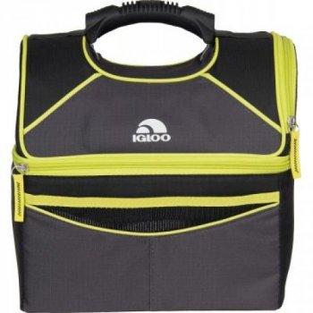 Термосумка, сумка-холодильник на 10 л для продуктів Igloo (0342236179052) Жовтий