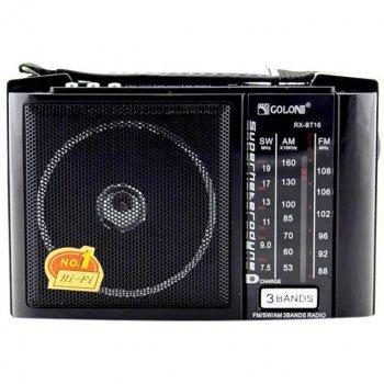 Радіоприймач з блютузом Golon RX-16BT (USB+SD) / 15BT