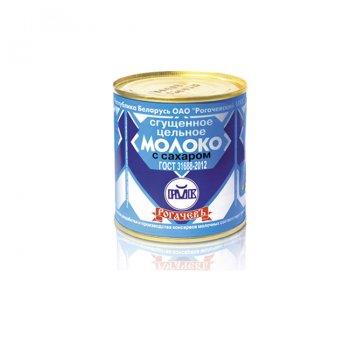 Молоко цельное сгущенное с сахаром Рогачев 8,5% ГОСТ 380 г