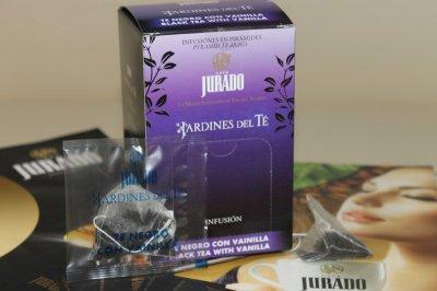 Чай JURADO черный с ванилью