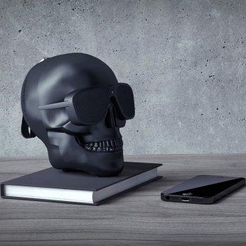 Акустическая система Skull Wireless Bluetooth Speaker Black (TXT-042)
