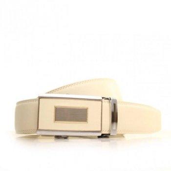 Кожаный мужской ремень Alon l35a1a21 125 см.