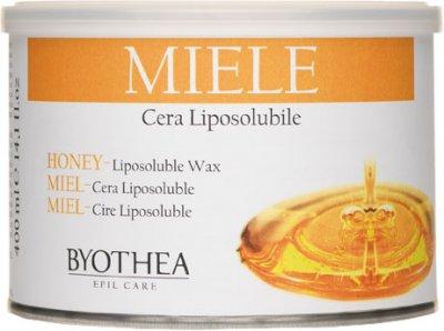 Воск для депиляции Byothea Cera Liposolubile Мед 400 мл (8054377035242)