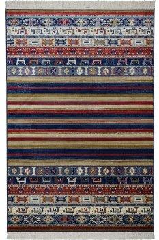 Килим Devos-Caby SPIRIT 22880 0.7x1.4 м. Синій Прямокутник