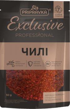 Упаковка чили Приправка Exclusive Professional 50 г х 3 шт (4820195512715)