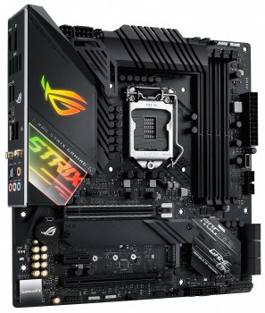 Материнская плата Asus ROG Strix Z490-G Gaming (Wi-Fi) (s1200, Intel Z490, PCI-Ex16)