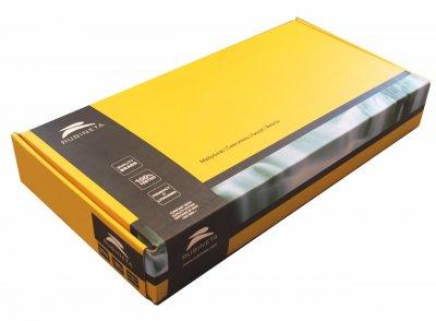 Змішувач кухонний RUBINETA Axe-33 BG (AX30008) хром