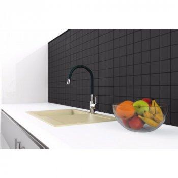 Змішувач для кухні Rubineta Flexy 33 BK (FL30068)