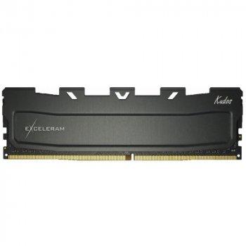 Модуль пам'яті для комп'ютера DDR4 8GB 3200 MHz Kudos Black eXceleram (EKBLACK4083216A)