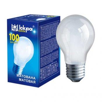 Лампа розжарювання Іскра А55 100W E27 матова (10247713)