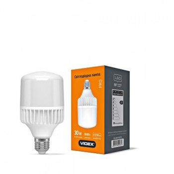Лампа LED VIDEX A80 30W E27 2700LM 5000K (11978092)