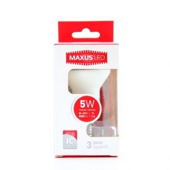 Лампа Maxus LED R50 5W 3000K E14 (11532913)