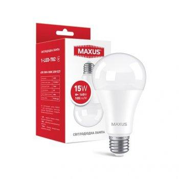Лампа Maxus LED A70 15W 1575LM 4100K E27 (11983454)