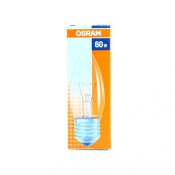 Лампа розжарювання OSRAM Клас У 60W E27 прозора (10133536)