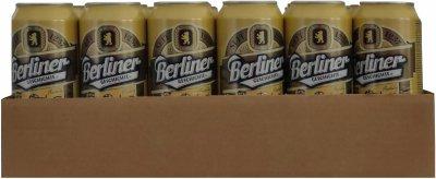 Упаковка пива Berliner Geschichte Hefeweizen 1237 світле нефільтроване 5.2% 0.5 х 24 шт. (4015576156835G)