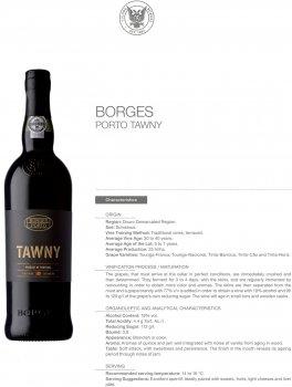 Портвейн Borges Tawny Porto червоний солодкий 0.75 л 19% (5601129030203)