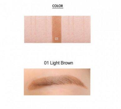 Косметика для брів Tony Moly 7days Perfect Tattoo Eyebrow Light Brown (EE00537)