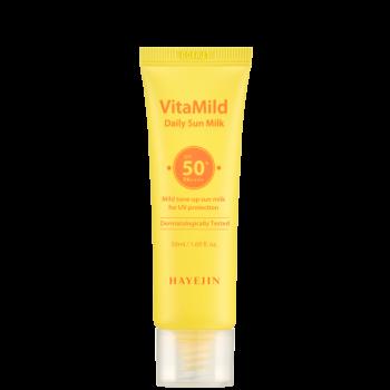 Сонцезахисне молочко Hayejin для щоденного застосування серії ВітаМайлд з SPF50 + PA++++ 50 мл