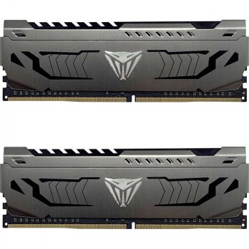 Оперативна пам'ять Patriot Viper DDR4 Steel 16GB 3000 MHz CL16 (Kit of 2x8192) DIMM (PVS416G300C6K)