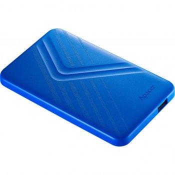 """Жорсткий диск зовнішній Apacer USB 3.2 Gen1 AC236 1TB 2,5"""" Синій (AP1TBAC236U-1)"""