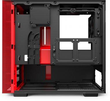 Корпус NZXT H210i Black-red (CA-H210i-BR)