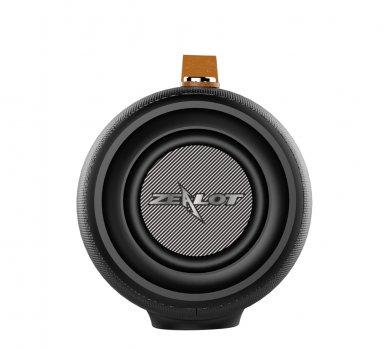 Портативна бездротова Bluetooth колонка ZeaLot S27 38W 8000mAh AUX USB Чорна