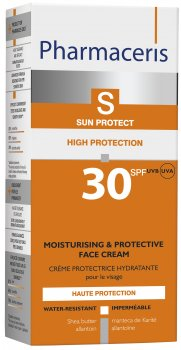 Увлажняющий солнцезащитный крем для лица Pharmaceris S Sun Protect SPF30 50 мл (5900717149014)