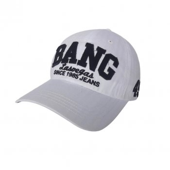 Бейсболка белая Bang Sport Line 4475 57-60 цвет белый