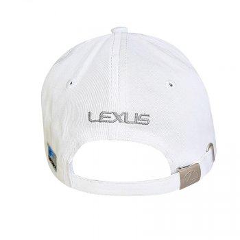 Бейсболка с логотипом авто Лексус Sport Line 5807 57-60 цвет белый